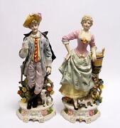 Porzellan Figur Paar