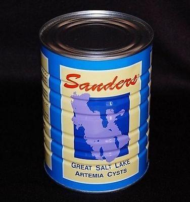 Sanders Artemia Eier / Aufzuchtfutter / Lebendfutter 50g/ca.125ml