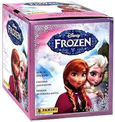 2014 Panini Disney Frozen Stickers Box 50 Ct