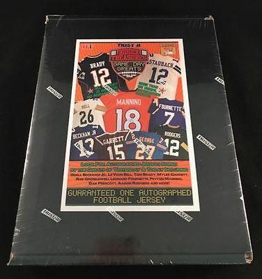 2018 NFL TRISTAR AUTOGRAPH FOOTBALL JERSEY BLACK BOX LIVE BREAK -RANDOM TEAM-736