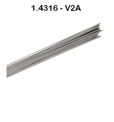 Schweißdraht Edelstahl V2A Schweißstäbe WIG 4316 TIG INOX 308L ER308LSI