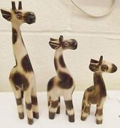 Wooden Giraffe Ornament