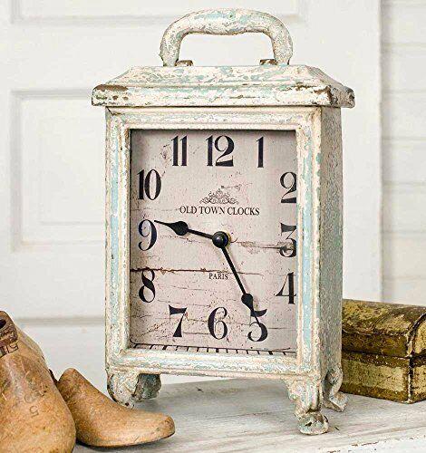 Rustic Vintage Carriage Clock