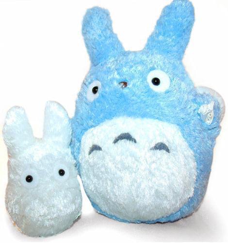 My Neighbor Totoro Blue-totoro White-totoro Black-Soot ...  |White Totoro Plush