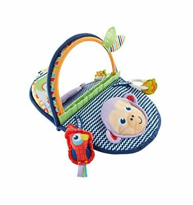 Fisher-Price Monkey Mirror, New-born Tummy Time and Sit Sensory Toy with Texture for sale  Shipping to United States