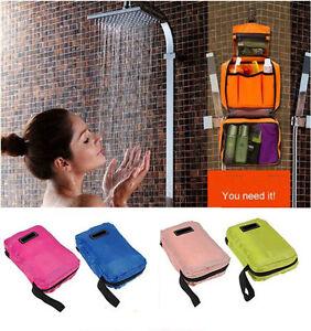 Travel Bag Luxury Hanging Bag Folding Large Toiletries Makeup Hiking Bag Set