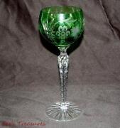 Cut Crystal Wine Glasses