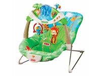 Fisher price deluxe rainforest bouncer