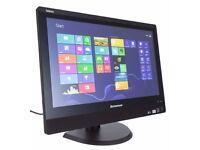 Lenovo ThinkCentre 23 inch BIG All In One PC i5 3.0GHz 4Gb Ram,500 HDD webcam