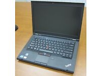 Lenovo Thinkpad T430 laptop high 1600x900 res screen backlit keyboard Intel 3.3ghz x 4 Core i5 CPU