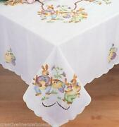 Round Fabric Tablecloth