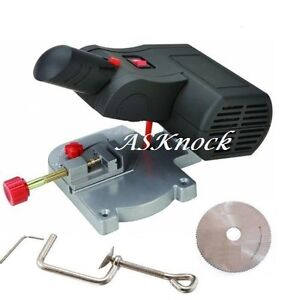 "2"" Cut Off Saw Mini Bench Top Wheel Blade Wood Plastic Brass Metal Carbon Miter"