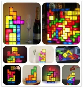 LED Tetris DIY Creative ConstructibleGame Style Stackable Lamp!! Kitchener / Waterloo Kitchener Area image 3