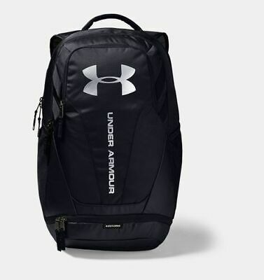 NEW Under Armour Hustle Print Book Style Backpack - Grey