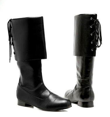 Sparrow Mens Halloween Pirate Boots - Halloween Boots
