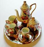 Miniature Tea Set Vintage