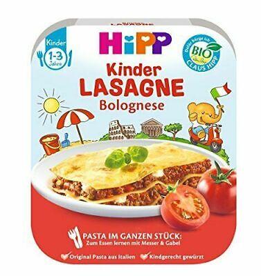 Fertiggericht HiPP Lasagne Bolognese Kindermahlzeit Pasta 18 x 250 g  MHD 7/21