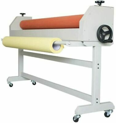 63 1600mm Large Manual Cold Roll Laminating Machine Wide Format Cold Laminator