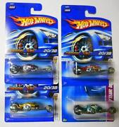 Toy Motorcycle Lot