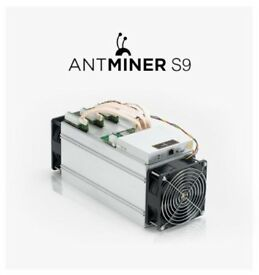 3 x Bitmain Antminer S9 Miner - Bitcoin Miner Included with PSU!