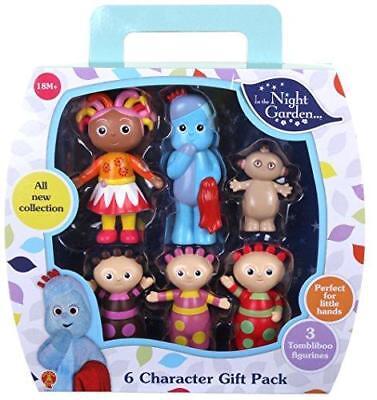 Neu in The Night Garden 6 Figur Charakter Geschenkpaket ()