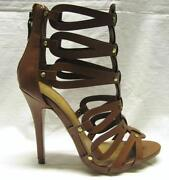 Brown High Heel Sandals