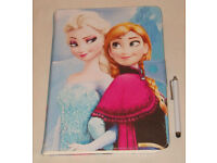 APPLE IPAD AIR 1 2 FROZEN PU LEATHER FOLIO CASE COVER FOLDING FLIP STAND 5 6 GEN