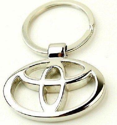 Llavero Toyota, logotipo, emblema, buena calidad, #39