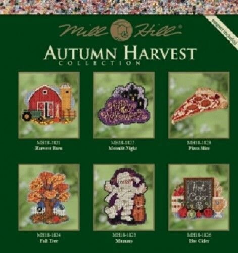 Mill Hill Autumn Harvest Counted Cross-stitch Glass Bead Kit