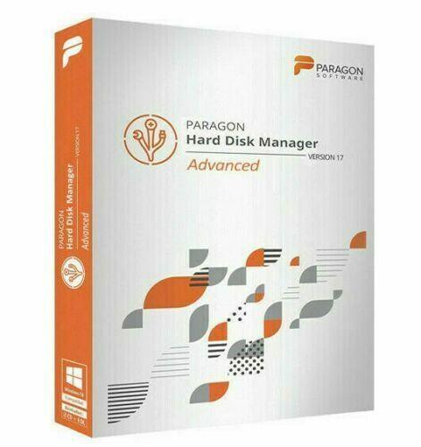 Paragon Hard Disk Manager 17 - Windows x64