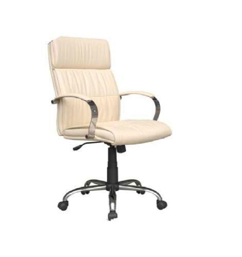 cream office chair cream leather office chair ebay 13617 | $ 3