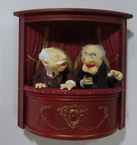 RARE Statler and Waldorf The Muppets Show 2008 Hallmark Ornament