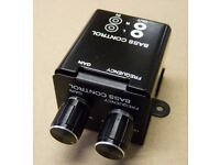 New Hi-Fi (HiFi) Stereo Bass Control Switch - Subwoofer crossover (speakers bass) ..