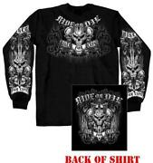 Long Sleeve Biker Shirts