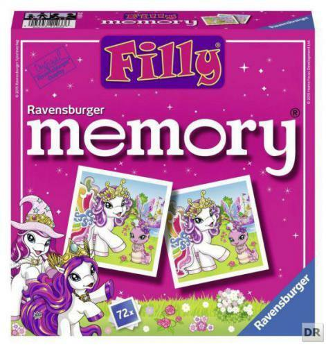 Ravensburger 21033 - Filly World memory