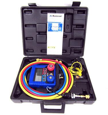 Mastercool 99661 Complete Hvac Digital Manifold Set With Hoses - Brand New