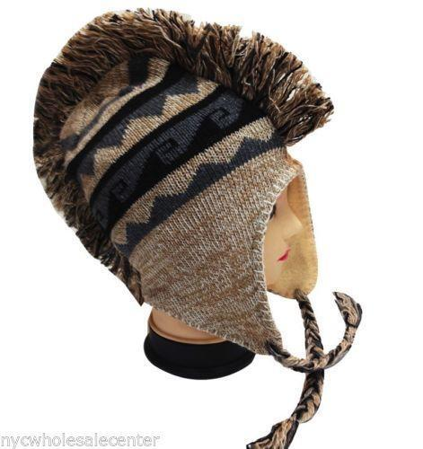 8e0b88a89cc Mohawk Knit Hat