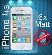 iPhone 4 Schutzfolie Matt
