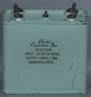 Plastic Capacitors Hv10-152m Compact Dc Power Packpower Supply 0-1kv 1.5 Ma