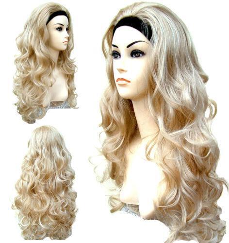 Blonde Hair Piece 61