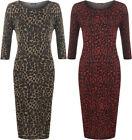 Damenkleider mit Leoparden/Cocktail Leopard für Party-Anlässe