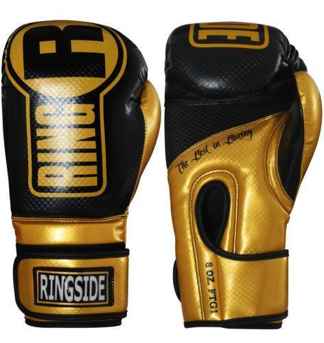 Golden Gloves Fitness Vaughan: Gold Boxing Gloves