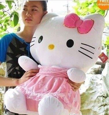 50 cm Super cute Hello Kitty doll cat plush toy birthday gift