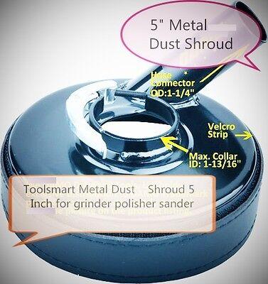 Metal 5-inch Dust Shroud For Grinders Concrete Grinding Diamond Cup Wheels