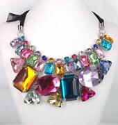 Big Rhinestone Necklace