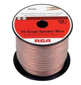 16 gauge speaker wire ebay 16 gauge 100 foot speaker wire greentooth Gallery