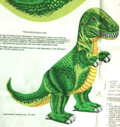 Dinosaur Fabric Ebay