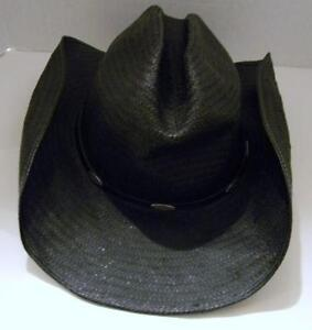Vintage Straw Cowboy Hat 9fcb6895122