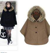 Cape Poncho Coat