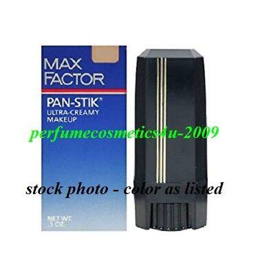 MAX FACTOR PAN-STIK ULTRA CREAMY MAKEUP STICK F/S .5 OZ MEDIUM (COOL 2) NIB ()